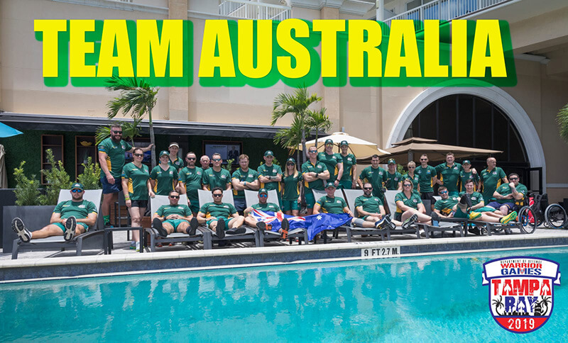 Warrior Games 2019 - Team Australia