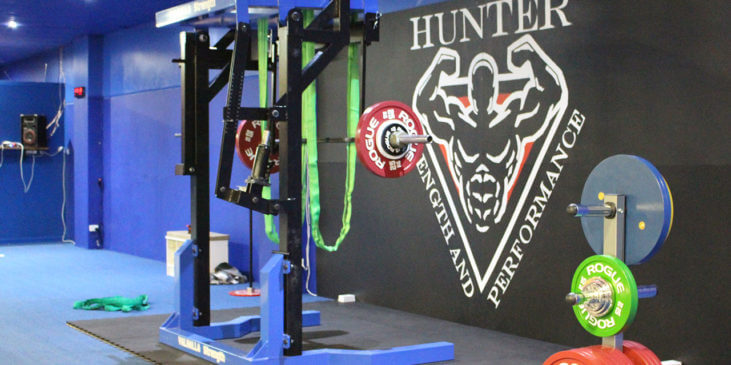 Image of a Gym for Hunter strength and performance